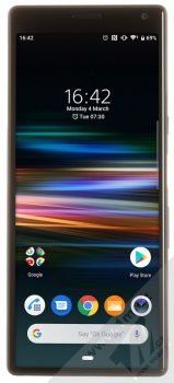 Sony Xperia 10 černá (black) zepředu