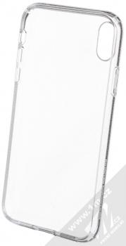 Spigen Liquid Crystal Glitter třpytivý ochranný kryt pro Apple iPhone XR průhledná (crystal quartz) zepředu