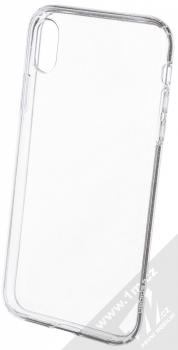 Spigen Liquid Crystal Glitter třpytivý ochranný kryt pro Apple iPhone XR průhledná (crystal quartz)