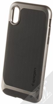 Spigen Neo Hybrid ochranný kryt pro Apple iPhone X kovově šedá (gunmetal)