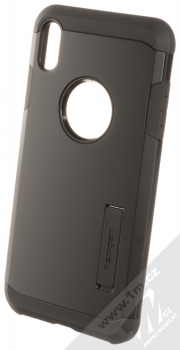 Spigen Tough Armor odolný ochranný kryt se stojánkem pro Apple iPhone XS Max černá (matte black)