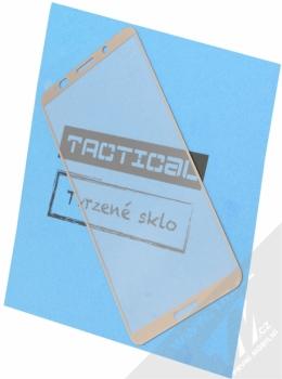 Tactical Tempered Glass ochranné tvrzené sklo na kompletní displej pro Huawei Mate 10 Pro hnědá (mocha gold)