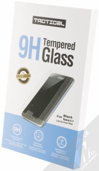 Tactical Tempered Glass ochranné tvrzené sklo na kompletní displej pro Nokia 5.1 černá (black) krabička