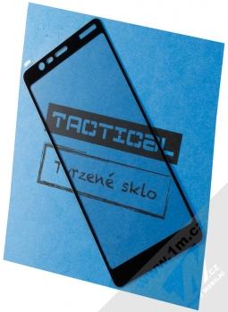 Tactical Tempered Glass ochranné tvrzené sklo na kompletní displej pro Nokia 5.1 černá (black)