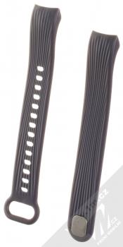 Tactical Vertical Lines Strap silikonový pásek na zápěstí pro Honor Band 3 tmavě modrá (dark blue)