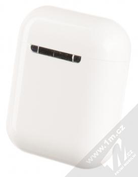 USAMS LU Wireless Bluetooth 5.0 Earphones headset stereo sluchátka bílá (white) pouzdro zezadu