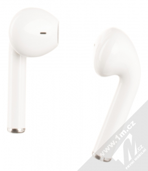 USAMS LU Wireless Bluetooth 5.0 Earphones headset stereo sluchátka bílá (white) zezadu