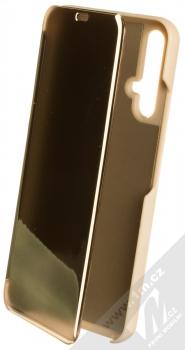 Vennus Clear View flipové pouzdro pro Honor 20, Huawei nova 5T zlatá (gold)
