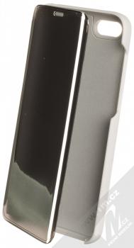 Vennus Clear View flipové pouzdro pro Huawei Y5 (2018), Honor 7S stříbrná (silver)
