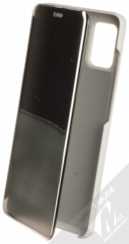 Vennus Clear View flipové pouzdro pro Samsung Galaxy A51 stříbrná (silver)