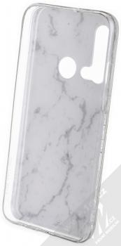 Vennus Stone Case ochranný kryt pro Huawei P20 Lite (2019) bílý howlit (white howlite) zepředu