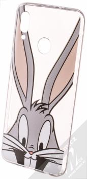 Warner Bros Looney Tunes Bugs Bunny 001 TPU ochranný silikonový kryt s motivem pro Huawei P Smart (2019) průhledná (transparent)