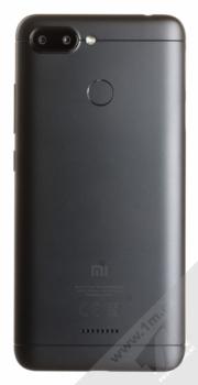 XIAOMI REDMI 6 3GB/32GB Global Version CZ LTE černá (black) zezadu