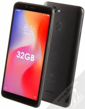 Xiaomi Redmi 6 3GB/32GB Global Version CZ LTE + selfie tyčka Setty Mini v ceně 349Kč ZDARMA černá (black)