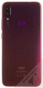 Xiaomi Redmi Note 7 4GB/128GB červená (nebula red) zezadu