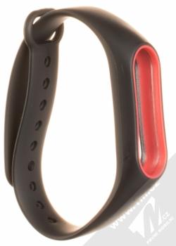 Xiaomi Strap silikonový pásek na zápěstí pro Xiaomi Mi Band 2 černá (black)