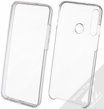 1Mcz 360 Full Cover sada ochranných krytů pro Huawei Y6p průhledná (transparent)