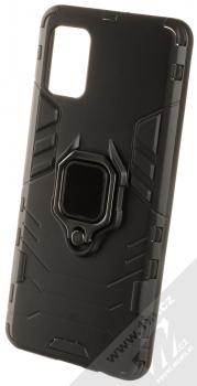 1Mcz Armor Ring odolný ochranný kryt s držákem na prst pro Samsung Galaxy A51 černá (black)