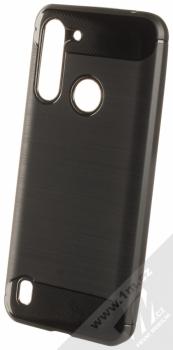 1Mcz Carbon TPU ochranný kryt pro Moto G8 Power Lite černá (black)