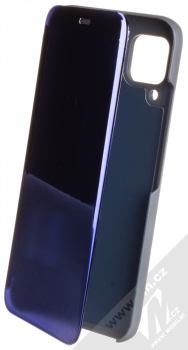 1Mcz Clear View flipové pouzdro pro Huawei P40 Lite modrá (blue)