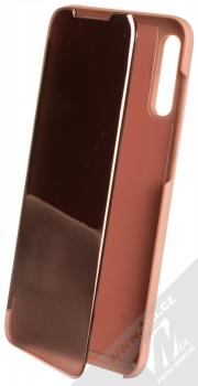 1Mcz Clear View flipové pouzdro pro Samsung Galaxy A70 růžová (pink)