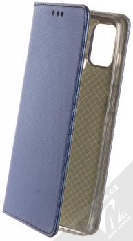 1Mcz Magnet Book flipové pouzdro pro Samsung Galaxy A21s tmavě modrá (dark blue)