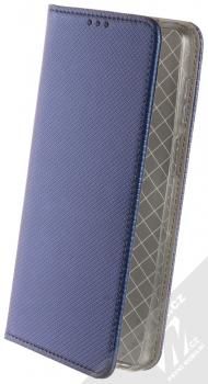 1Mcz Magnet Book flipové pouzdro pro Xiaomi Redmi Note 9 Pro, Redmi Note 9 Pro Max, Redmi Note 9S tmavě modrá (dark blue)