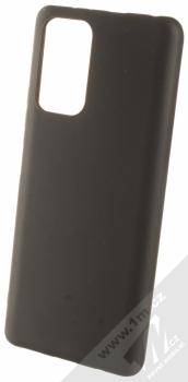 1Mcz Matt TPU ochranný silikonový kryt pro Xiaomi Redmi Note 10 Pro, Redmi Note 10 Pro Max černá (black)