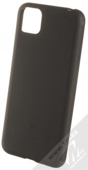 1Mcz Matt TPU ochranný silikonový kryt pro Huawei Y5p, Honor 9S černá (black)