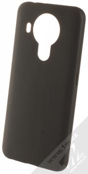 1Mcz Matt TPU ochranný silikonový kryt pro Nokia 5.4 černá (black)
