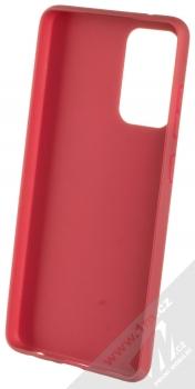 1Mcz Matt TPU ochranný kryt pro Samsung Galaxy A72 5G tmavě červená (dark red) zepředu