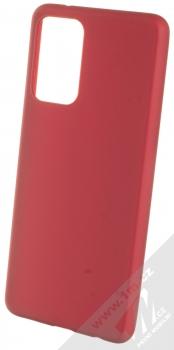 1Mcz Matt TPU ochranný kryt pro Samsung Galaxy A72 5G tmavě červená (dark red)