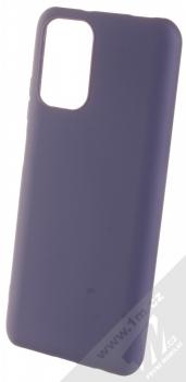 1Mcz Matt TPU ochranný silikonový kryt pro Xiaomi Redmi Note 10, Redmi Note 10S tmavě modrá (dark blue)