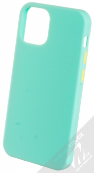 1Mcz Solid TPU ochranný kryt pro Apple iPhone 12 mini mátově zelená (mint green)
