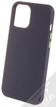 1Mcz Solid TPU ochranný kryt pro Apple iPhone 12 Pro Max tmavě modrá (navy blue)