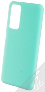 1Mcz Solid TPU ochranný kryt pro Huawei P Smart (2021) mátově zelená (mint green)
