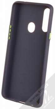 1Mcz Solid TPU ochranný kryt pro Samsung Galaxy A20s tmavě modrá (navy blue) zepředu