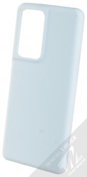 1Mcz Solid TPU ochranný kryt pro Samsung Galaxy S21 Ultra světle modrá (light blue)