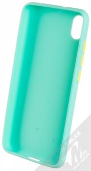 1Mcz Solid TPU ochranný kryt pro Xiaomi Redmi 7A mátově zelená (mint green) zepředu
