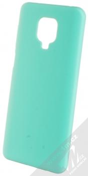 1Mcz Solid TPU ochranný kryt pro Xiaomi Redmi Note 9 Pro, Redmi Note 9 Pro Max, Redmi Note 9S mátově zelená (mint green)