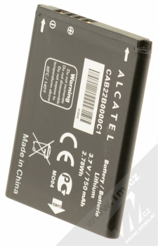 Alcatel CAB30B4000C1 (CAB22B0000C1, CAB0400000C1) originální baterie s kapacitou 750 mAh