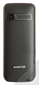 ALIGATOR D930 DUAL SIM černá stříbrná (black silver) zezadu