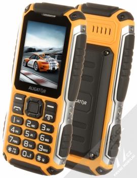 Aligator R30 eXtremo černá oranžová (black orange)
