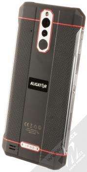Aligator RX700 eXtremo černá červená (black red) šikmo zezadu