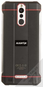Aligator RX700 eXtremo černá červená (black red) zezadu
