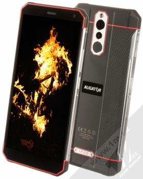 Aligator RX700 eXtremo černá červená (black red)