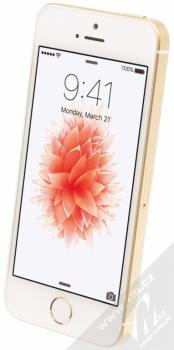 APPLE iPHONE SE 32GB zlatá (gold) šikmo zepředu