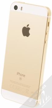 APPLE iPHONE SE 32GB zlatá (gold) šikmo zezadu