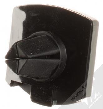 Cellularline Handy Force Drive magnetický univerzální držák do mřížky ventilace automobilu černá (black) šedý rámeček zezadu