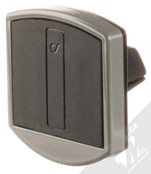 Cellularline Handy Force Drive magnetický univerzální držák do mřížky ventilace automobilu černá (black) šedý rámeček